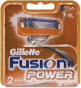 Купить Gillette кассеты для бритья сменные мужские Fusion Power 2шт