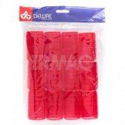 Купить Dewal бигуди-липучки 12 шт красные, 36 мм