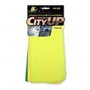Купить City Up CA-102 Набор салфеток микрофибры 3шт 30х30см
