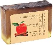 Купить Кафе Красоты le Cafe de Beaute мыло твердое кусковое глицериновое 100г Яблочный пай