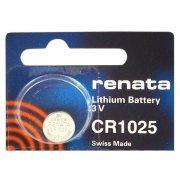 Купить Renata батарейка CR1025 3v, цена за 1шт