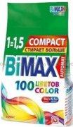 Купить Bimax стиральный порошок автомат 3кг Color&Fashion Compact мягкая упаковка