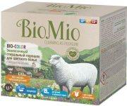 Купить BioMio Экологичный стиральный порошок для цветного белья Bio-Color концентрат с экстрактом хлопка без запаха 1500г