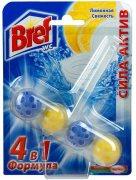 Купить Bref шарики для унитазов чистящие Сила-актив 50г 4в1 Лимонная свежесть
