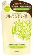 Купить Kracie Umi No Uruoiso шампунь для волос женский для ухода за кожей головы с экстрактами морских водорослей 420мл запасной блок