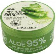 Купить Royal Skin Многофункциональный гель для лица и тела с 95% содержанием Алоэ 300мл