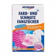 Купить Heitmann салфетки для предотвращения случайной окраски тканей при машинной стирке 15шт