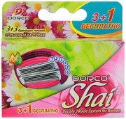Купить Dorco Shai Sweetie Сменные лезвия 3+1шт