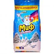 Купить Миф стиральный порошок автомат 9кг Cвежий цвет