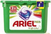 Купить Ariel гель для стирки в растворимых капсулах автомат 15шт x 28,8г Для цветных тканей