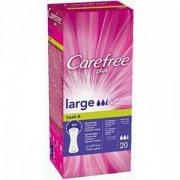 Купить Carefree прокладки ежедневные Plus Large 20шт 2,5 капли