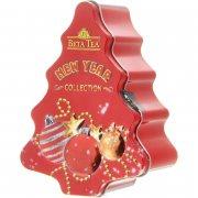 Купить Beta Tea Чай Новогодняя елка в железной банке 50г