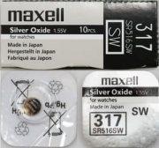 Купить Maxell батарейка 317/SR516SW, цена за 1шт