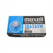 Купить Maxell батарейка 377/SR626SW, цена за 1шт
