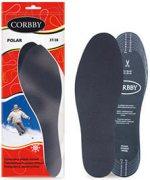 Купить Corbby Winter Line Polar Стельки зимние с активированным углем размер 35-45