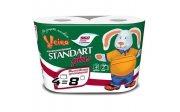 Купить Veiro Linia Standart Plus туалетная бумага двухслойная 4шт