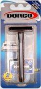 Купить Dorco станок для бритья мужской многоразовый классический на блистере и 2 лезвия в комплекте