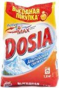 Купить Dosia стиральный порошок автомат 1,8кг Альпийская свежесть