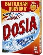 Купить Dosia стиральный порошок автомат 400г Альпийская свежесть