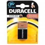 Купить Duracell батарейка крона алкалиновая 9v 6LR61/6LP3146/MN1604, цена за 1шт
