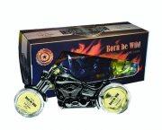 Купить Born be Wild подарочный набор мужской The Dark (туалетная вода 50мл + 30мл)