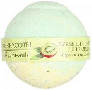 Купить Кафе Красоты Бурлящий шарик для ванной 120г Фруктовый сорбет