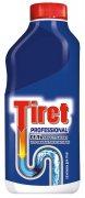 Купить Tiret Профессионал гель для удаления засоров в канализационных трубах 1л синий