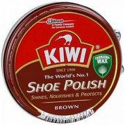 Купить Kiwi Shoe Polish 50мл банка черный банка Коричневый