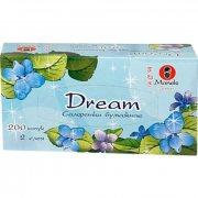 Купить Maneki Dream салфетки-выдергушки бумажные двухслойные с микротиснением 200шт