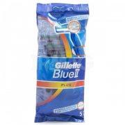 Купить Gillette станок для бритья мужской одноразовый Blue II Plus 5шт