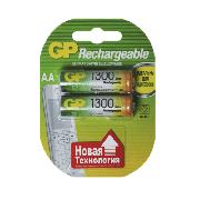 Купить GP аккумулятор R06 1300mah AA пальчиковый, цена за 2шт