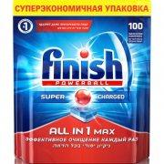 Купить Finish таблетки для посудомоечной машины 100шт Powerball All in 1 Max в коробке