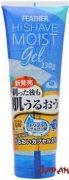 Купить Feather HiShave Moist Gel Увлажняющий гель для бритья с гиалуроновой кислотой, Q10 и витамином А Морской Аромат 230г