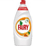 Купить Fairy средство для мытья посуды 900мл Апельсин и лимонник