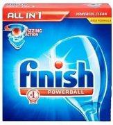 Купить Finish таблетки для посудомоечной машины 25шт Powerball All in 1 Max в zip-пакете