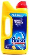 Купить Finish Power Powder 1кг Желтый лимон средство для мытья посуды в посудомоечной машине порошкообразное