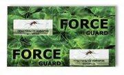Купить Force Guard Пластины от комаров зеленые без запаха 10шт