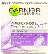 Купить Garnier крем для лица дневной 50мл Клетки Молодости Интенсивное омоложение 55+