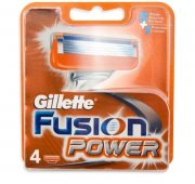 Купить Gillette кассеты для бритья сменные мужские Fusion Power 4шт