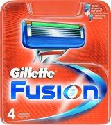 Купить Gillette кассеты для бритья сменные мужские Fusion 4шт