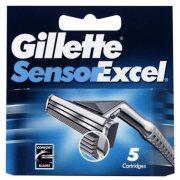 Купить Gillette кассеты для бритья сменные мужские Sensor Excel 5шт