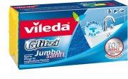 Купить Vileda губка Glitzi Jambo для ванной комнаты Джамбо Софт 1шт