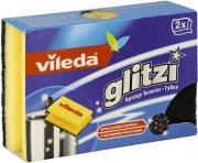 Купить Vileda губка Glitzi для кастрюль 94*68*45мм 2шт