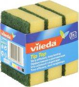 Купить Vileda губка классическая Тип-Топ 3шт