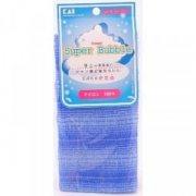 Купить Kai Super Bubble мочалка для тела массажная жесткая синяя