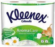 Купить Kleenex туалетная бумага трехслойная 4шт Нежная Ромашка