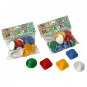 Купить М-Пластика Idea Крючок самоклеящийся Мозайка 10шт