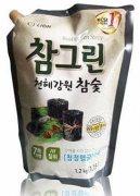 Купить Lion ChamGreen средство для мытья посуды, овощей и фруктов Древесный уголь 1,2л в мягкой упаковке
