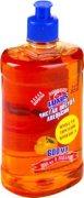 Купить Luxus Чистая Посуда средство для мытья посуды концентрат 600мл Апельсин Россия
