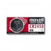 Купить Maxell батарейка CR2450 Lithium 3v, цена за 1шт